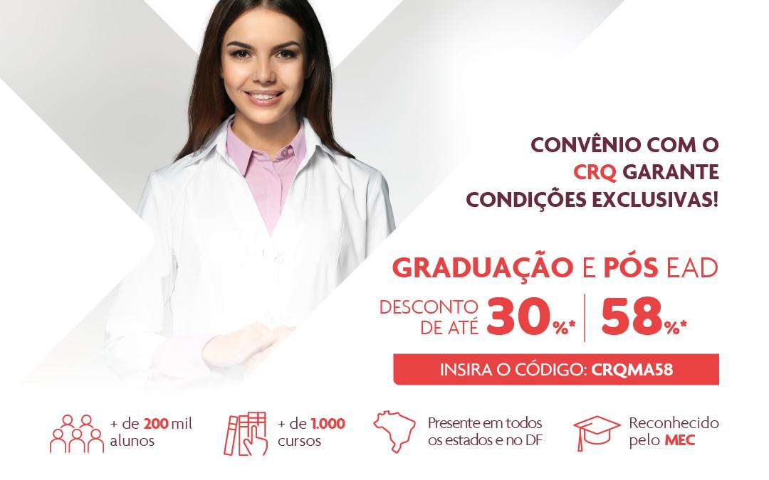 CRQ-XI firma convênio para Graduação e Pós com desconto